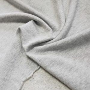 Футер 3 нитка с люрекс серый меланж/золото 250 гр
