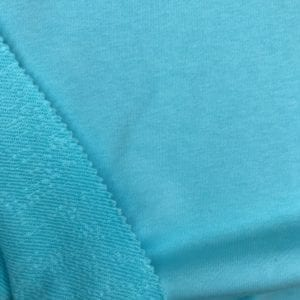 Футер 3х нитка б/н 90хб-к/10пэ 330гр 180см текстиль Светло-бирюзовый