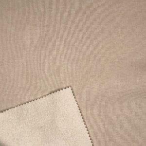 Футер 3х нитка с/н 70хб-к/30пэ 330гр 180см текстиль Какао