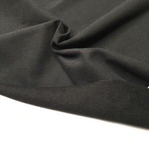 Футер 2х нитка б/н Peach Effect 92хб-к/8эл 260гр 185см текстиль Черный