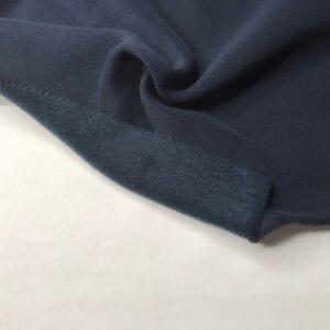 Футер 3х нитка с/н Люкс Peach Effect 70хб-к/30пэ 300гр 180см текстиль Темно-синий