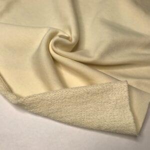 Футер 3х нитка б/н 90хб-к/10пэ 330гр 180см текстиль Ванильный мусс