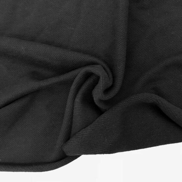 Футер Бангкок б/н 100хб 460гр 160см текстиль Черный