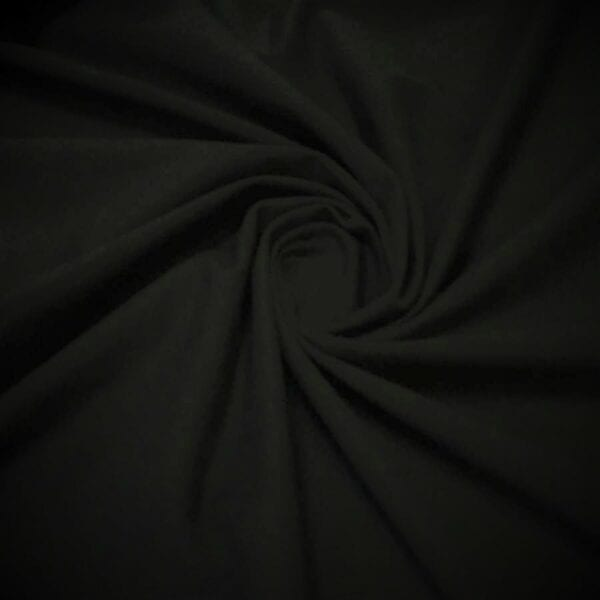 Кулирка 100хб-к 240гр 180cм текстиль Черный
