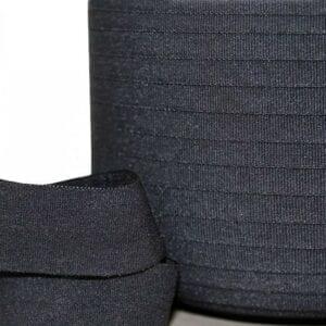 Бейка эластичная (резинка окантовочная) Черная