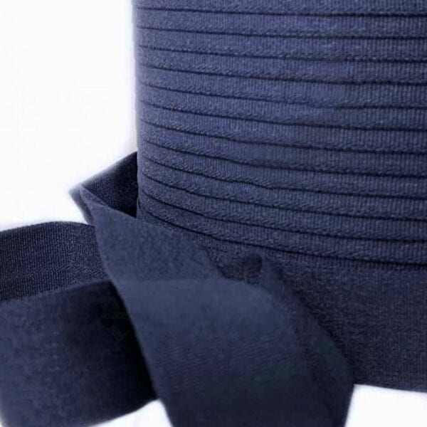 Резинка окантовочная 22 мм Темно-синяя