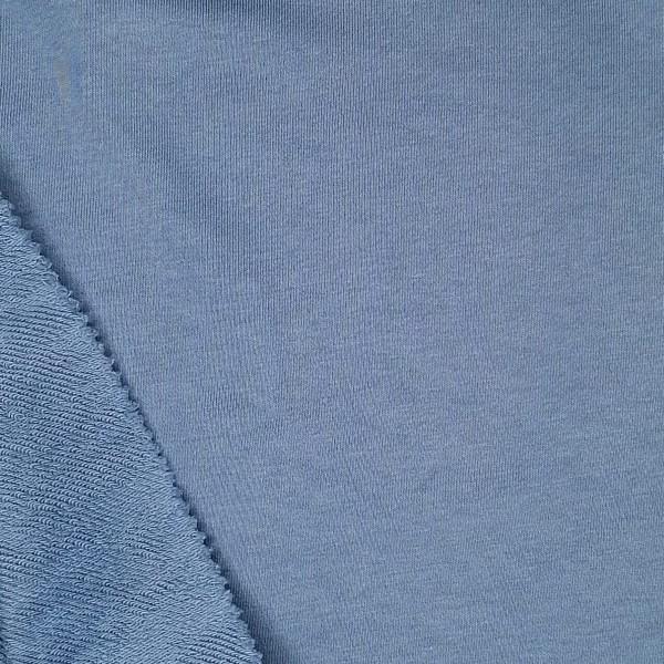 Футер 3х нитка б/н 90хб-к/10пэ 330гр 180см текстиль Пыльный деним