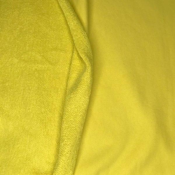 Футер 3х нитка б/н 90хб-к/10пэ 330гр 180см текстиль Лимонная долька