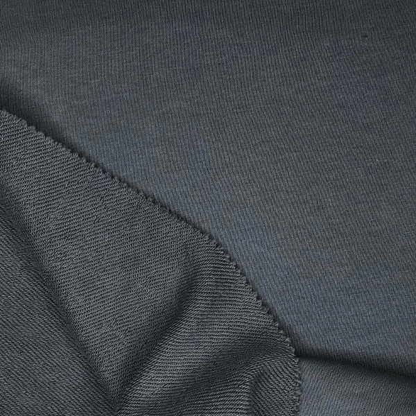 Футер 3х нитка б/н 90хб-к/10пэ 330гр 180см текстиль Дымчатый