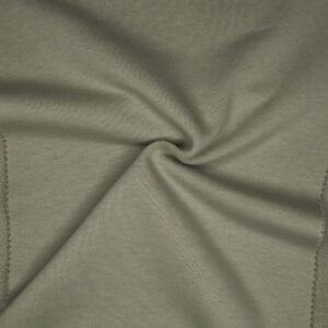 Футер 3х нитка б/н 100хб-к 420гр 180см текстиль Пыльный зеленый