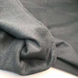 Футер 3х нитка б/н Peach Effect 90хб-к/10пэ 330гр 180см текстиль Дымчатый