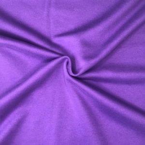 Футер 3х нитка б/н Peach Effect 90хб-к/10пэ 330гр 180см текстиль Фиолетовый