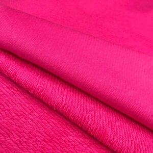 Футер 3х нитка б/н Peach Effect 90хб-к/10пэ 330гр 180см текстиль Розовое счастье